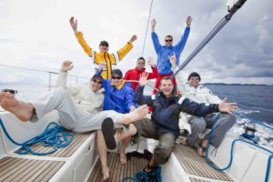 Happy sailing crew of 7 people having fun on sailing ship. All 7 model released. [url=http://www.istockphoto.com/file_search.php?action=file&lightboxID=4766115][img]http://santoriniphoto.com/Template-Sailing.jpg[/img][/url]